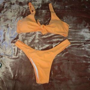 Zaful Light Orange Set